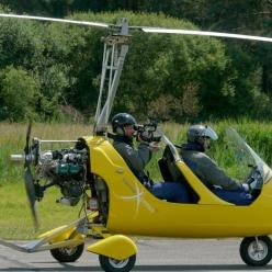 Gyrocopter ZDFwiso Reisen